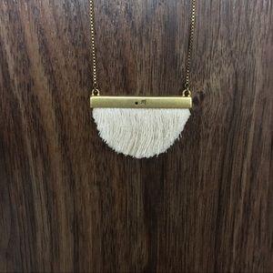 Madewell Dreamkeeper Fringe Necklace